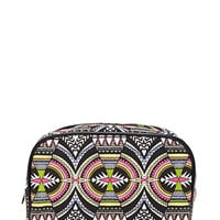 Abstract Patterned Makeup Bag