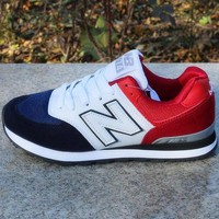 DCCK1IN new balance women men casual running sport shoes sneakers red  0