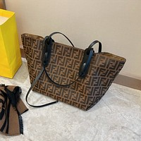 FENDI FF Handbag Tote Shoulder bag