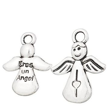Floating Angel Charm Compatible With Origami Owl Lockets