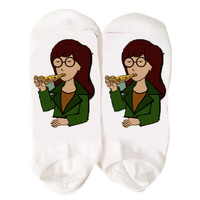 Pizza Daria Socks