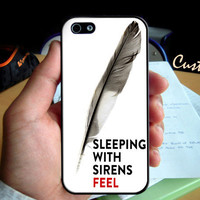 Band Doodle Kellin Quinn Sleeping With Sirens - Photo Hard Case design for iPhone 4/4s Case, iPhone 5 Case, Black or White ( Choose Option )