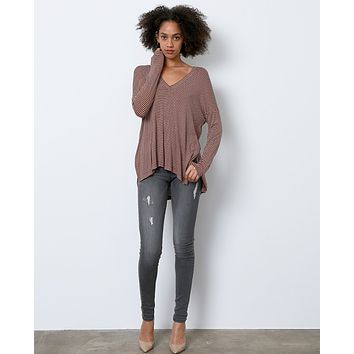 Overcast Super Skinny Jeans - Gray Denim