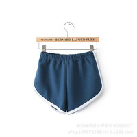 Summer Casual Women's Fashion Gym Yoga Pants Shorts [4919987332]
