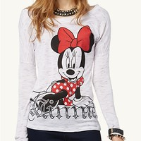 Minnie Mouse Drop Shoulder Top | Graphic Tees | rue21