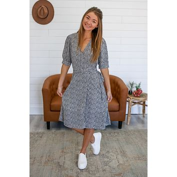 Be Our Guest Midi Dress