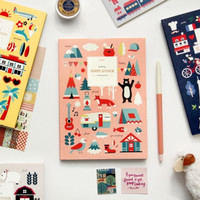 2015 Small Pattern Monthly Planner