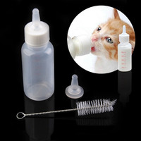 New Pet Small Dog Puppy Cat Kitten Milk Nursing Care Feeding Bottle Set = 1930095108