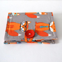 Earring Book - Jewelry Pouch - Jewelry Organizer - Earring Display - Needle book - Sewing Needle Holder - Bridesmaid Gift