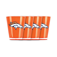 4 piece shot glass set - Denver Broncos
