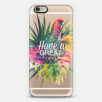 Great Summer (watercolor) iPhone 6 case by Eleaxart | Casetify