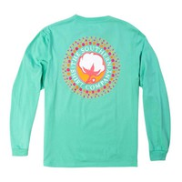 Southern Shirt Company Watercolor Logo Long Sleeve Shirt in Florida Keys 2T016-198