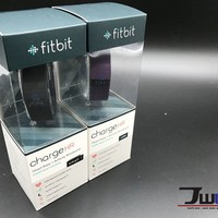 New Fitbit Charge HR Wireless Activity & Heart Rate Wristband Black & Plum