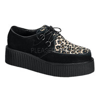 Demonia Leopard and Black Creepers