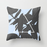 Get on top Throw Pillow by Hanna Kastl-Lungberg