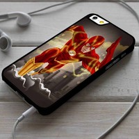 The Flash DC Comics Superhero Custom Case for iPhone 4/4s 5 5s 5c 6 6 plus 7 Case