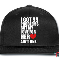 99 problems for him Snapback