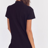 Truly Madly Deeply Mock Neck Mini T-Shirt Dress | Urban Outfitters