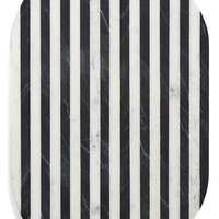 Thirstystone Black & White Oval Marble Serving Board | Nordstrom