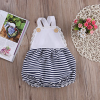 Infant Baby Kids Girl Clothes Bodysuit Romper Jumpsuit Playsuit Outfits Sunsuit