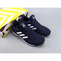 Adidas Ultra Boots Fashion Men Casual Running Sport Shoes Sneakers Navy Blue