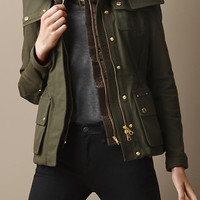 Canvas Parka With Warmer