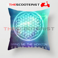 """Bring Me The Horizon Sempiternal - Pillow Cover 18"""" x 18"""" - One Side"""