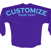 Custom Boyfriend Jersey - Customize Your Text - Choose Your Colors