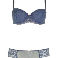 Floral Lace Balcony Bra and Knicker - New In This Week - New In