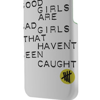 Best 3D Full Wrap Phone Case - Hard (PC) Cover with 5 Second Of Summer Good Girl Design
