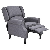 Recliner Chair - 20'' Manual Recliner - Gray
