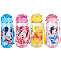 HOT SELL DISNE Minnie/Mickey Mouse Kids Drinking Bottle Folding Straw School Childrens Cup Sipper Bottle Feeding FREE SHIPPING
