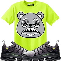 SHADOW BAWS Sneaker Tees Shirt - Vapormax Plus Volt