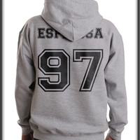 Espinosa 97 Black Ink on back Matthew Lee Espinosa Unisex Pullover Hoodie
