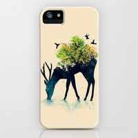 Watering (A Life Into Itself) iPhone & iPod Case by Budi Satria Kwan