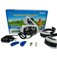 Newest completely Wireless Pet Fence Vibration Shock training Collar Electronic Pet Dog Fencing system For 2Dogs KD-661W
