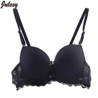 Julexy Brand New Fashion Bras for Women Beauty Back Lace Hollow Out Push Up Underwear Bralette Solid Color Sutia Bras