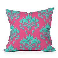 Rebecca Allen The Sophisticate Throw Pillow