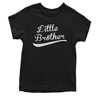 Little Brother Siblings  Youth T-shirt