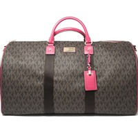 Michael Kors Jet Set Travel Logo Duffel Bag