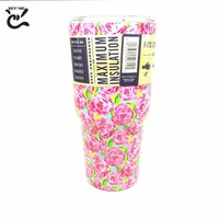New Color 30oz Tumbler Travel Mug Water Bottle Stainless steel Rambler Tumbler 30oz Beer Coffee Mugs with Lid for Car mug Cups