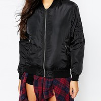 Missguided Bomber Jacket at asos.com