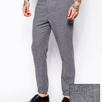 ASOS Tapered Fit Smart Cuffed Joggers at asos.com
