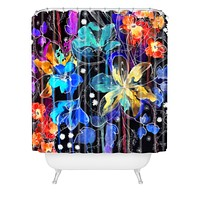 Holly Sharpe Lost In Botanica 2 Shower Curtain