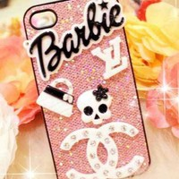 New Bling Crystal Fashion Doll iPhone 4/4s Case #6