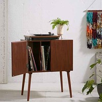 Assembly Home Mid-Century Vinyl Record Media Console