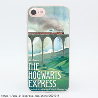 854X Harry Potter The Hogwarts Hard Transparent Case for iPhone 7 7 Plus 6 6S Plus 5 5S SE 5C 4 4S