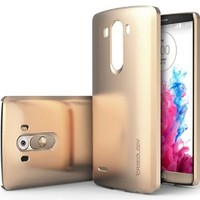 LG G3 Case, Caseology® [Ultra Slim Series] Protective Hard Snap-on Case [Copper Gold] [Armor Plate] for G3 - Copper Gold
