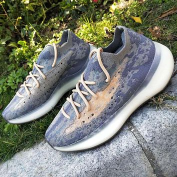 Adidas Yeezy Boost 380 V3 Alien FV3260 Stone texture Purple Joint Limited Coconut Shoes