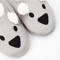 Slip-On Koala Slippers